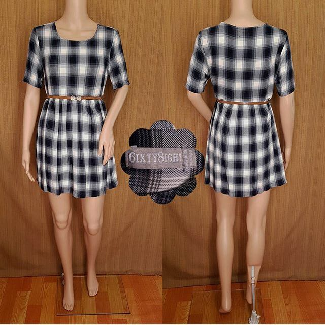 6ixty 8ight Plaid Dress (REPRICED)