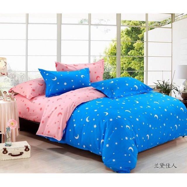 寢具被套組四件組 被套/床單/枕套*2