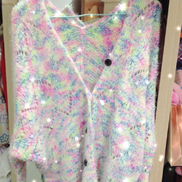 日本 棉花糖針織外套