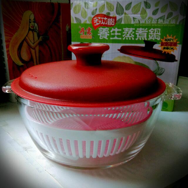 全新 丹露 多功能 養生蒸煮鍋