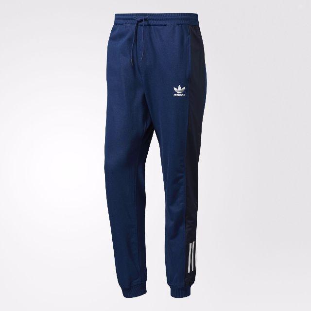 Adidas 縮口褲 藍
