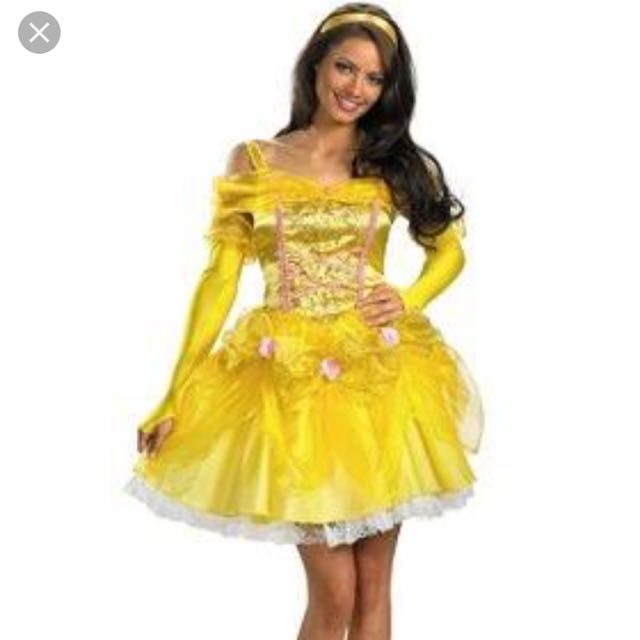 Adult Disney Beauty And The Beast Costume