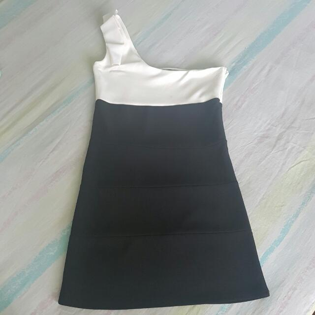 Asymmetrical Bandage Dress (Free Shipping)