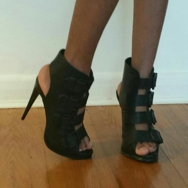 Black Belt Heels