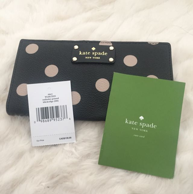 BNWT Kate Spade Genuine Leather Bifold Wallet