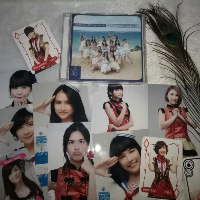CD JKT48 Manatsu No Sounds Good!  Ori