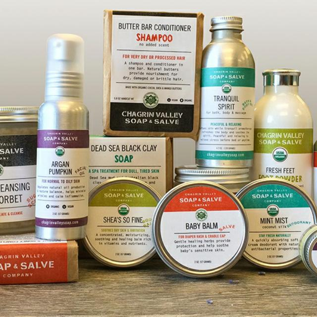 Chagrin Valley Soap & Salve Spree
