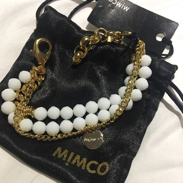 Checkmate Beaded Mimco Bracelet