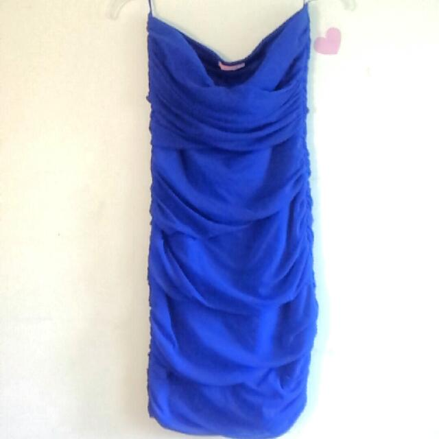 Dark Blue Dress From Ardene's