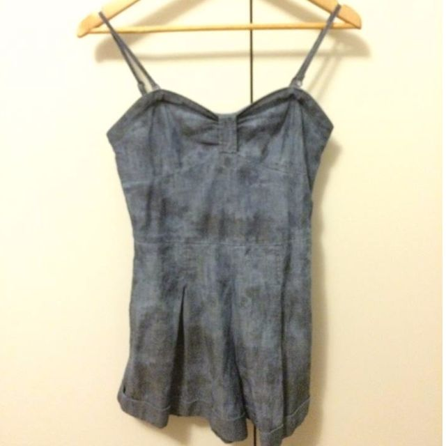 Denim Levis Playsuit