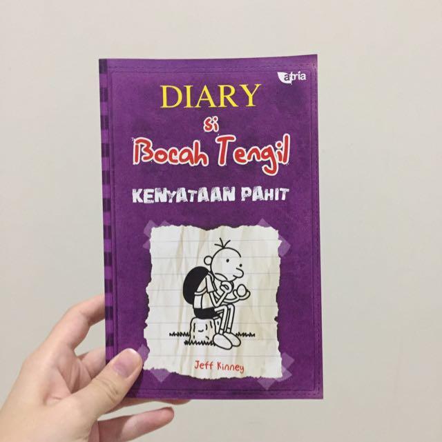 Diary si Bocah Tengil, Kenyataan Pahit