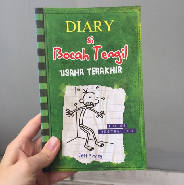 Diary si Bocah Tengil, Usaha Terakhir
