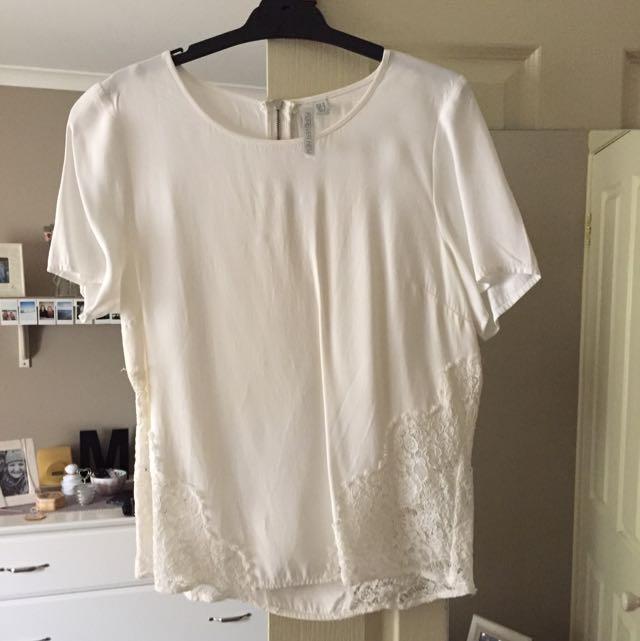 Forever New White Shirt