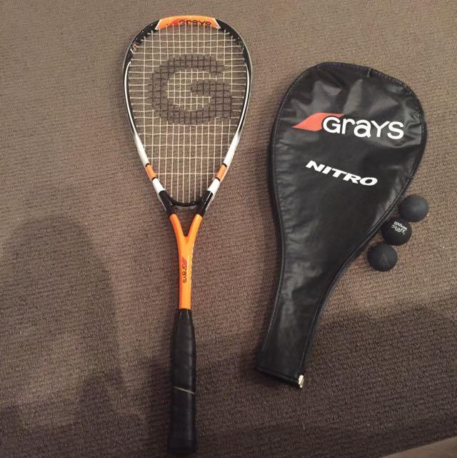 Grays Nitro Squash Racquet