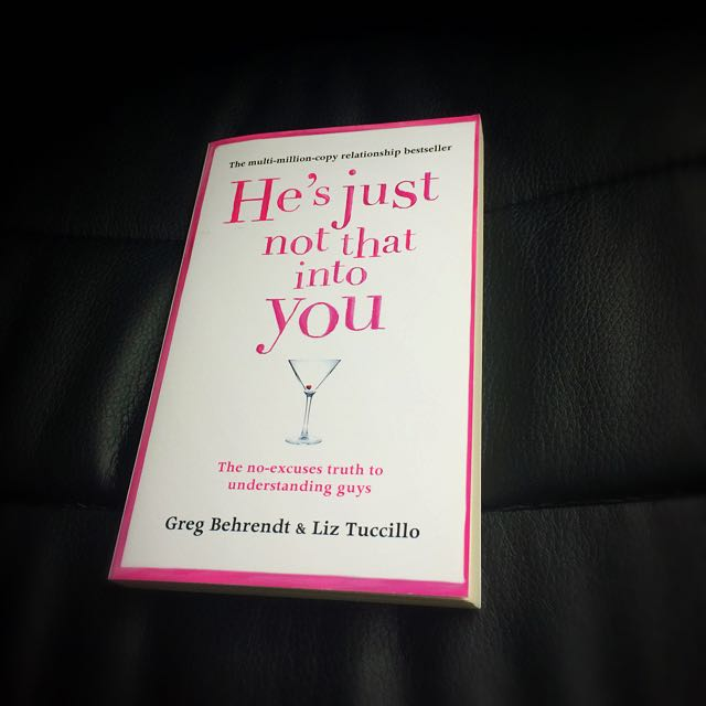 He's Just Not That Into You by Greg Behrendt Paperback Book