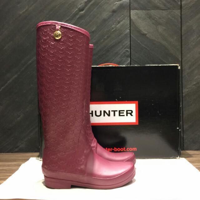 Hunter 粉紅女鞋【自取價3500】