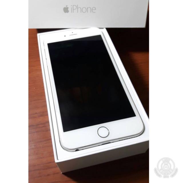 iPhone6 iphone 64G 銀色 Plus