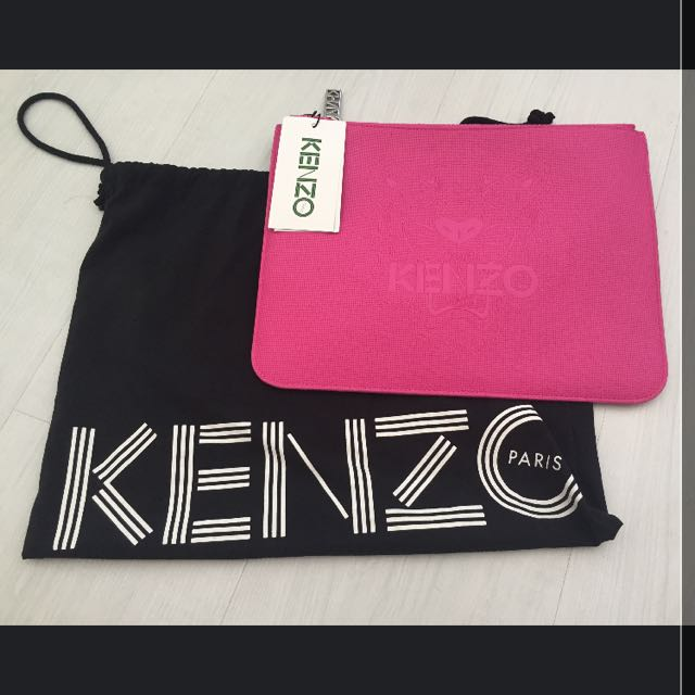 7eae777df66b8a Kenzo A4 Pouch, Luxury, Bags & Wallets on Carousell