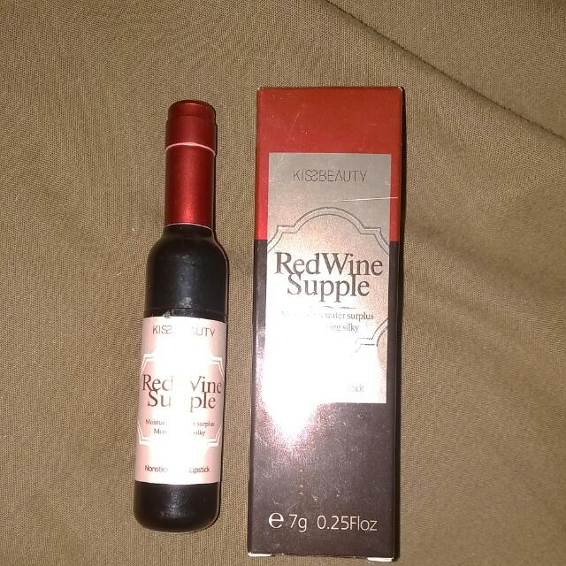 Kiss Beauty Red Wine Supple