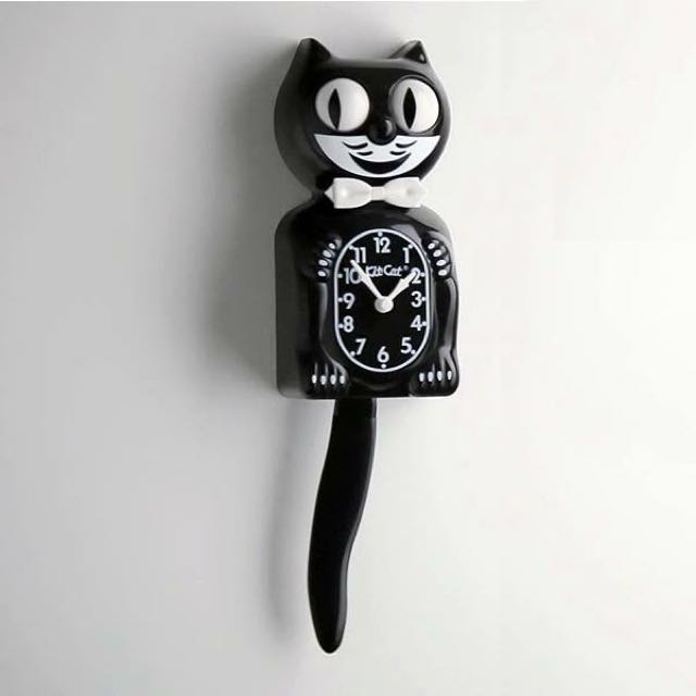 Kit Cat 菲力貓搖擺時鐘