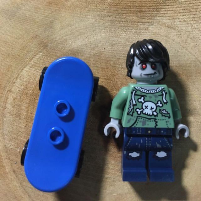 Lego 僵屍滑板