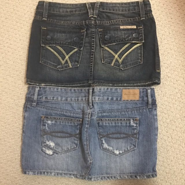 Lot Of 2 Pairs Of Skirts