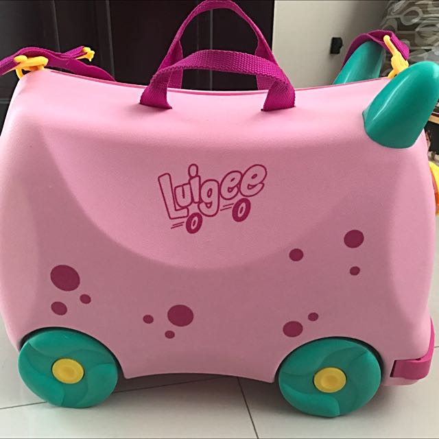 Luigee Ride-on Luggage