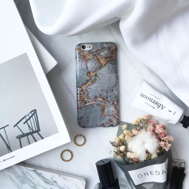 Marble iPhone 7 Plus Soft Case