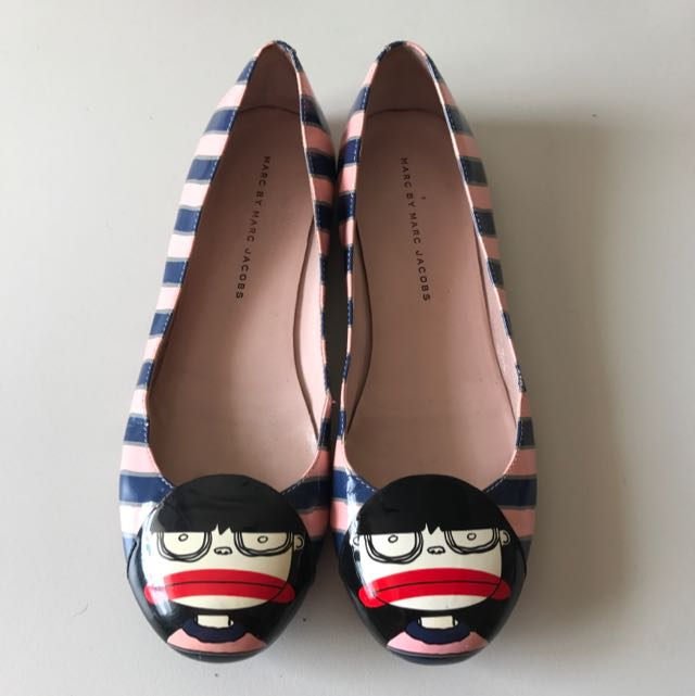 Size 38 Marc By Marc Jacobs Flats (authentic)