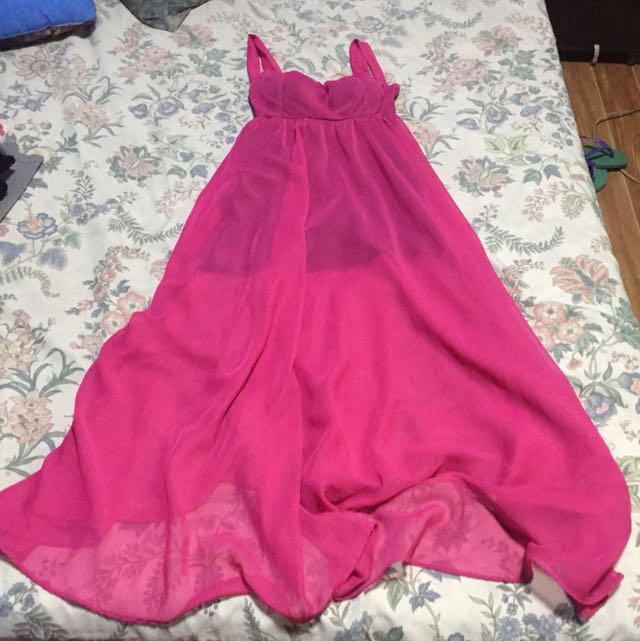 Maxi Dress Sheer