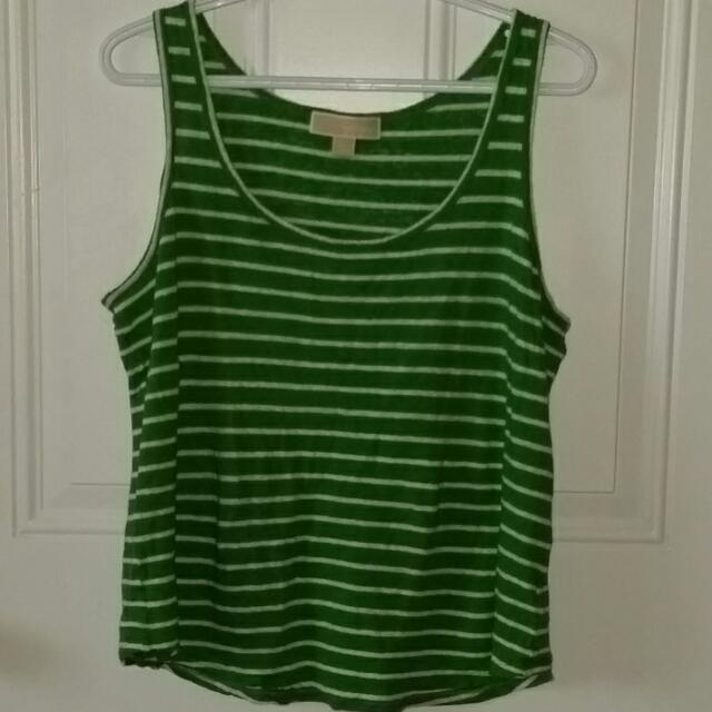 Michael Kors Striped Tank