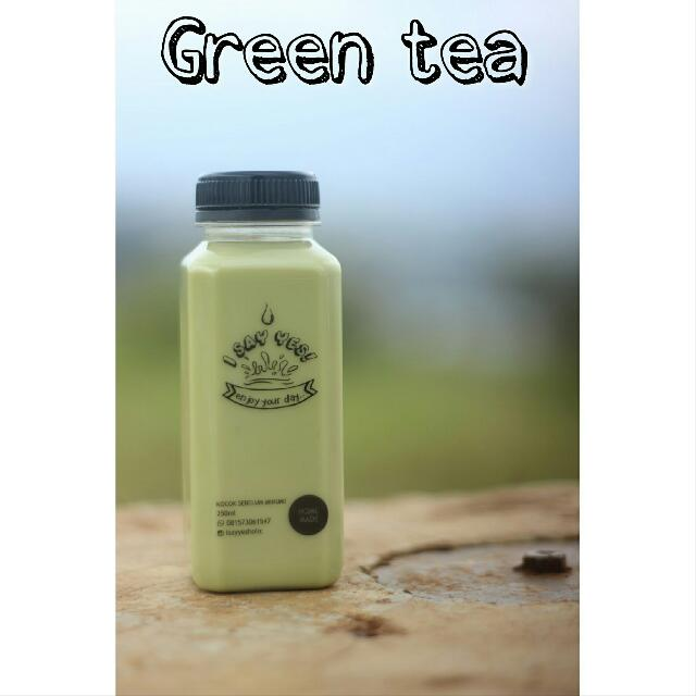 minuman green tea
