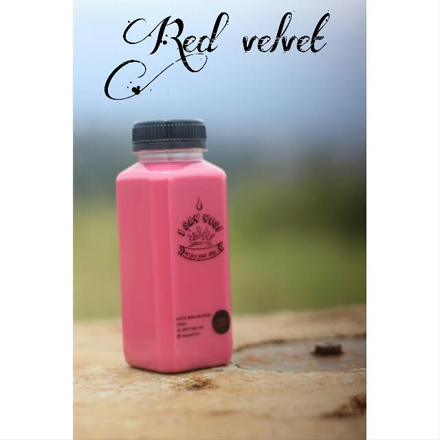 minuman red velvet
