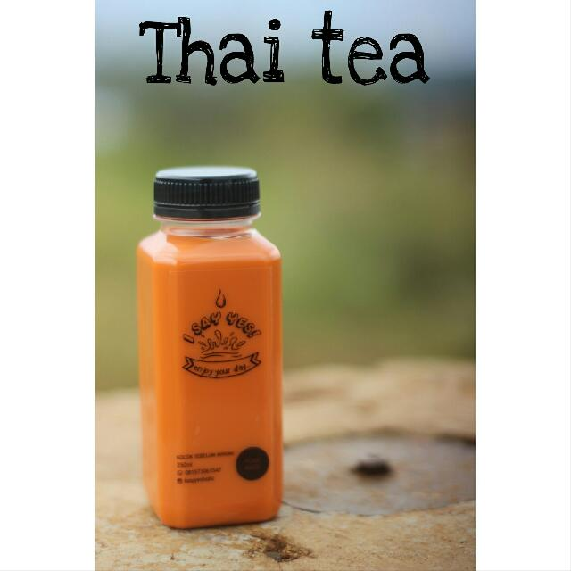 minuman thai tea