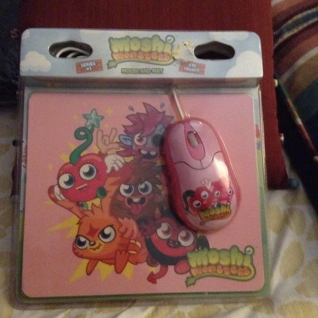 Moshi Monster Mouse And Mat