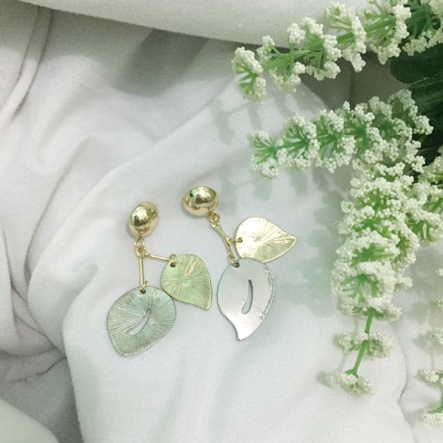 (New) Gold & Silver Earring