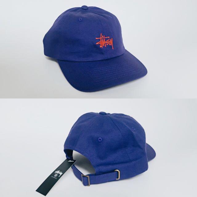 (NEW) Stussy Strapback Cap