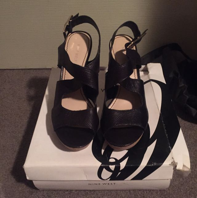 Nine West Black Heels