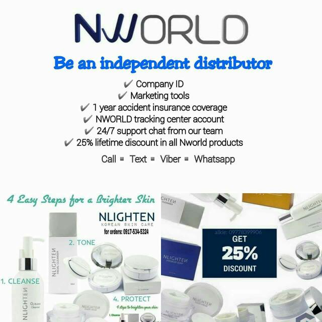 Nlighten Products made From Korea
