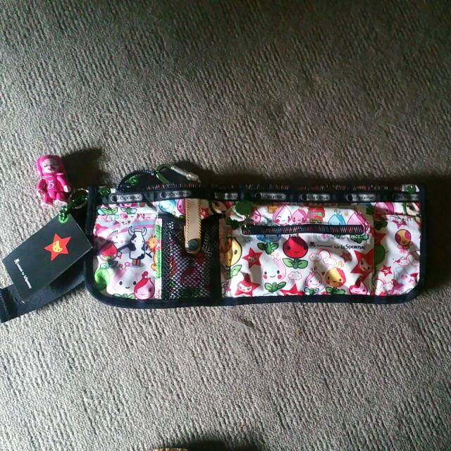 NWT Authentic Tokidoki LeSportsac Canguro Waist Bag 9519-4556