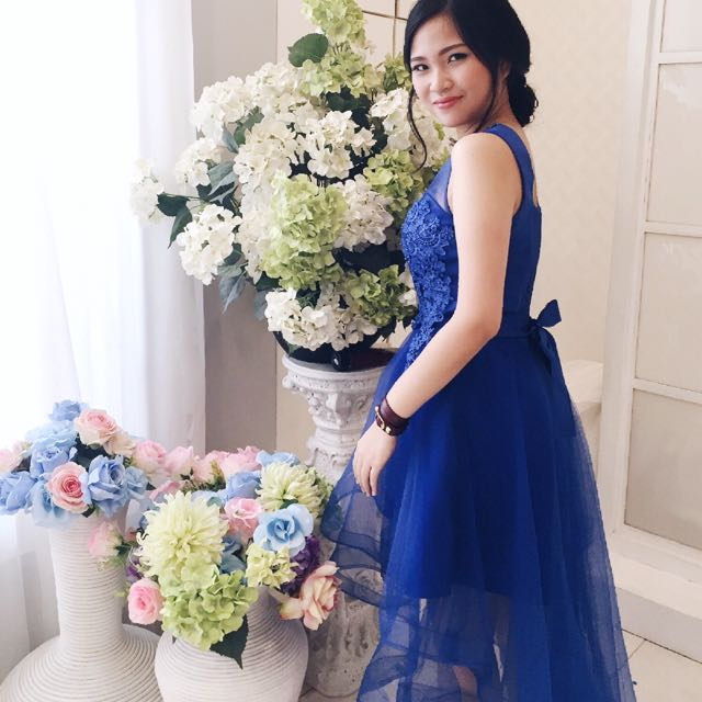 Party Dress in Blue