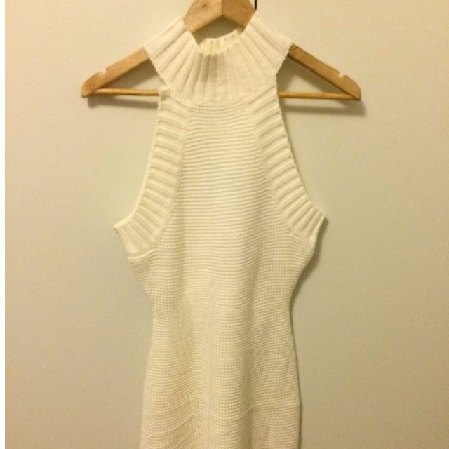 Peppermayo Knit Halter Dress