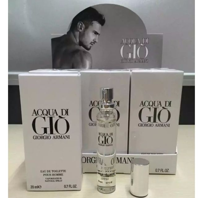 0875e23180d3 Perfume Purse   Pocket perfume Giorgio Armani Acqua Di Gio 20ml EDT ...