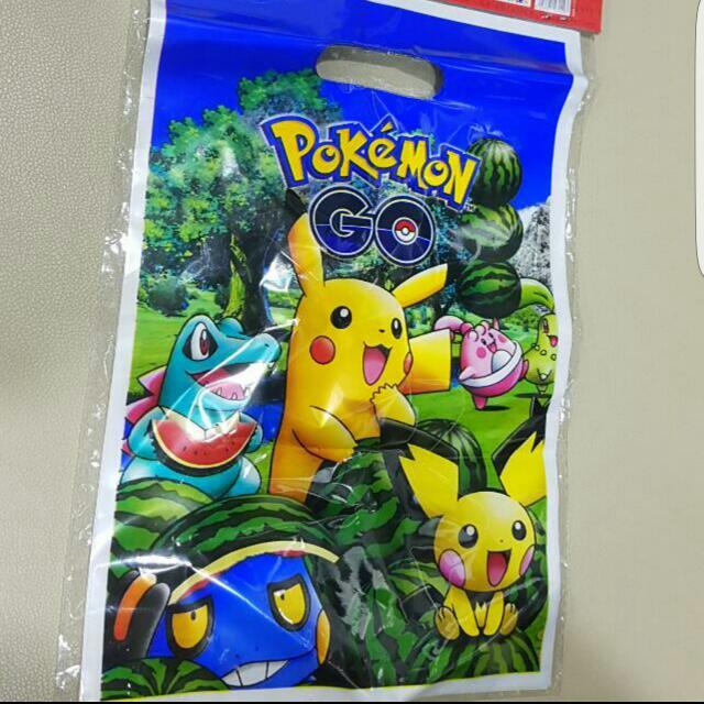 Pokemon Birthday Gift Bag Everything Else On Carousell