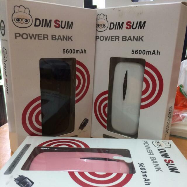 Power Bank Dimsum 5600 MAH