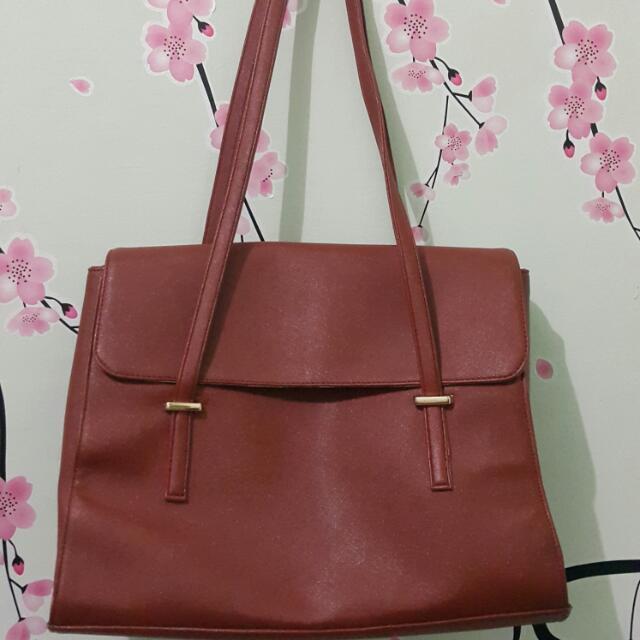 Preloved - Mayonette Cheddar Brown Shoulder Bag