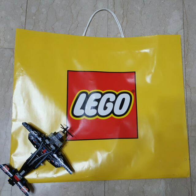 Preowned Exclusive LEGO Paper Bag, Toys & Games, Others on Carousell