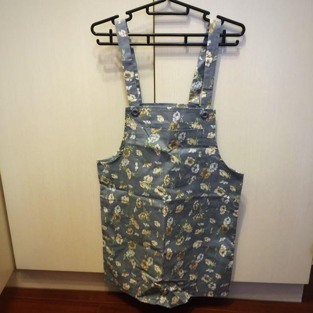 Queenshop花樣吊帶裙