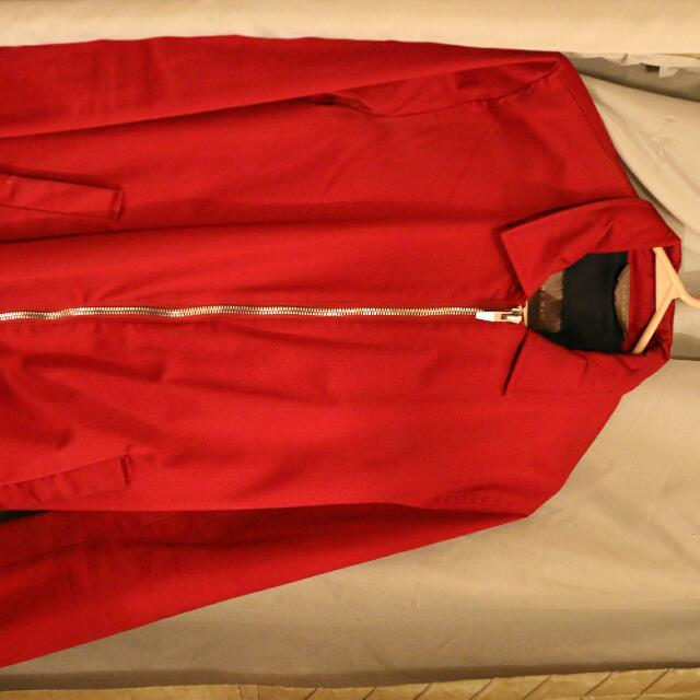 Red Zara Jacket