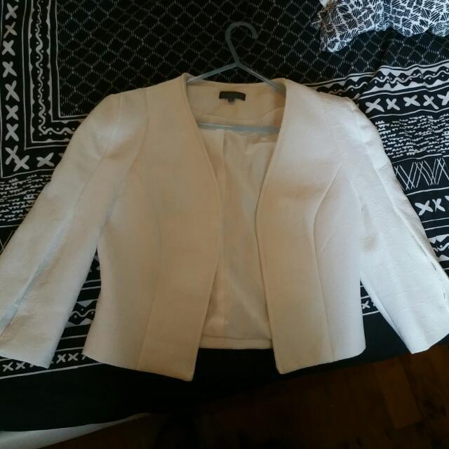 Sheike Jacket Bolero Style Dressy Size 6
